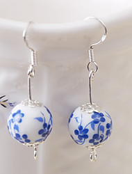 cheap -Women's Drop Earrings Hoop Earrings Fashion Vintage China Round Jewelry For Party Casual