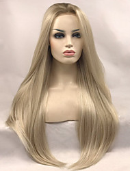 Uniwigs Women Synthetic Wig Lace Front Long Straight Blonde Natural Wigs Costume Wig