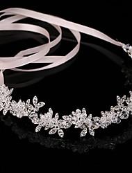 abordables -Cristal Alliage Bandeaux Chaîne de tête 1 Mariage Fête / Soirée Casque