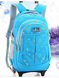 Women Bags Oxford Cloth School Bag Zipper for Casual All Seasons Blue