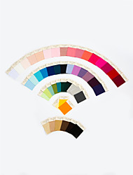 cheap -Fabric Swatch Single Color in 4 Materials