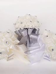 preiswerte -Hochzeitsblumen Sträuße Hochzeit Polyester Schaum 25 cm ca.