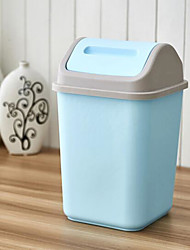 cheap -High Quality Kitchen Living Room Bathroom Waste Bins,Plastic