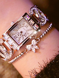 cheap -Women's Fashion Watch Simulated Diamond Watch Unique Creative Watch Japanese Quartz Water Resistant / Water Proof Rhinestone Colorful