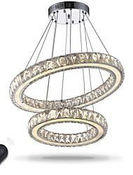 abordables -Artistique Inspiré de la nature LED Chic & Moderne Rustique Traditionnel/Classique Moderne/Contemporain Cristal Ampoule incluse Ajustable