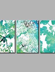 abordables -Impression sur Toile Moderne, Trois Panneaux Toile Panoramique horizontal Imprimé Décoration murale Décoration d'intérieur