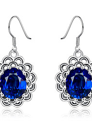 cheap -Women's Drop Earrings Hoop Earrings Multi-stone Cubic Zirconia Basic Sexy Statement Jewelry Elegant Sweet Rose Gold Plated Alloy