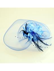 Недорогие -перья чистые факсимиляторы шляпы головной убор классический женский стиль