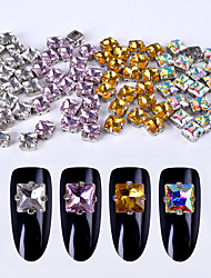 40 Manucure Dé oration strass Perles Maquillage cosmétique Nail Art Design