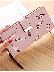 cheap -Women Bags PU Wallet Sequins for Event/Party Shopping All Seasons Blue Black Blushing Pink Almond Brown