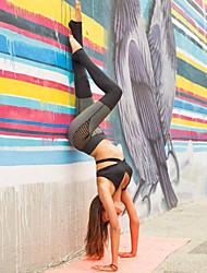preiswerte -Damen Einfarbig Genähte Spitzen Einfarbig Legging