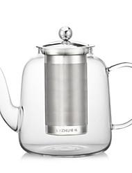 abordables -Intérieur Articles pour boire, 1200 Verre Trempé Thé Eau Pot d'eau et bouilloire