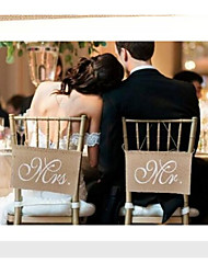 cheap -Wedding / Engagement / Wedding Party Flax Mixed Material Wedding Decorations Classic Theme All Seasons