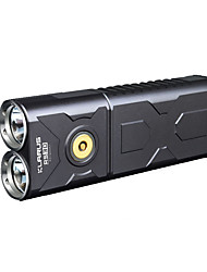 cheap -KLARUS RS30BA LED Flashlights / Torch LED 2400 lm Manual Mode Cree XM-L2 T6 Cree XM-L2 U2 Zoomable Professional Waterproof Lightweight