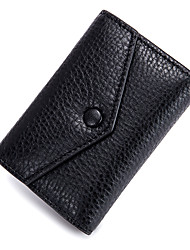 cheap -Unisex Bags Cowhide Clutch Buttons for Casual Office & Career All Seasons Black Light Green Light Purple Light Gray