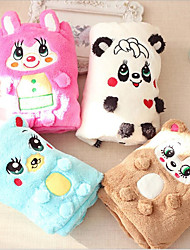 cheap -Cat Dog Bed Towels Gasket Pet Mats & Pads Cartoon Bear Animal Keep Warm Portable Double-Sided Soft Folding Blushing Pink Blue Coffee White