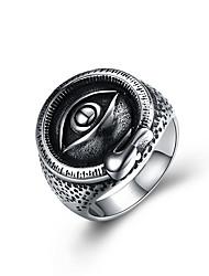 preiswerte -Damen Knöchel-Ring Personalisiert Hip-Hop Edelstahl Titanstahl Geometrische Form Oval Modeschmuck Halloween Strasse