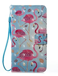 Case For Samsung Galaxy J5 (2017) J3 (2017) Card Holder Wallet with Stand Flip Magnetic Pattern Full Body Flamingo Hard PU Leather for J7