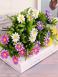 preiswerte -38cm 4 pcs 7 branches / pc home künstliche pflanzen bunte disy sonnenblume