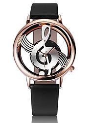 preiswerte -Damen Kinder Einzigartige kreative Uhr Modeuhr Armbanduhren für den Alltag Chinesisch Quartz Chronograph Leder Band Freizeit Elegant