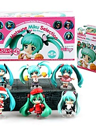 Figuras de Ação Anime Inspirado por Vocaloid Snow Miku CM modelo Brinquedos Boneca de Brinquedo