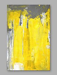 levne -Ručně malované Abstraktní Vertikální, Moderní Plátno Hang-malované olejomalba Home dekorace Jeden panel
