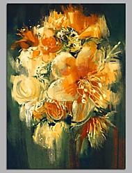 preiswerte -Orchidee 100% handgemalte zeitgenössische Ölgemälde moderne Kunst Wandkunst für Raumdekoration