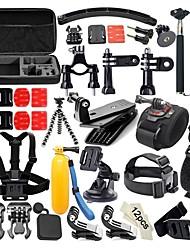preiswerte -Action Kamera / Sport-Kamera Selfie-Stick Brustgurt Chesty / Brust Gurt Lenkerhalterung Helmhalterung / Kopfbänder 3-fach verstellbare