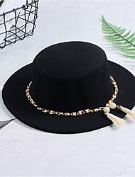 abordables -Mujer Primavera, Otoño, Invierno, Verano Vintage Casual Otro Sombrero Playero,Sólido Elegante