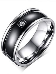 Недорогие -мужские простые ювелирные изделия из нержавеющей стали для свадьбы