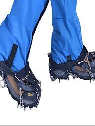 Snekæder til sko Crampon fastspændingspigge til sko Udendørs Klistret Klatring Udendørs Træning Metallegering Metal cm Stk.