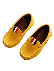 cheap -Boys' Shoes Leatherette Spring Comfort Loafers & Slip-Ons Appliques for Brown / Army Green / Wine / Wedding
