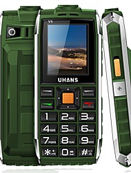 UHANS   V5 ≤3 inch Cell Phone (32MB + Other 0.3 MP Other 2500)