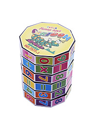 cheap -Infinity Cubes Building Blocks Toys Math Toy Toys Kids Stress and Anxiety Relief Animal ABS Animals Places Simple Office/career Pieces
