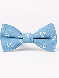 cheap -Men's Rayon Bow Tie Print