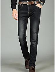 cheap -Men's Jeans Pants,Pants Solid