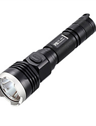 cheap -Nitecore LED Flashlights / Torch Handheld Flashlights/Torch Flashlight Lanyard LED 500-1000 lm 4 Mode Cree XM-L T6 Cree R5 Water