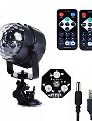cheap -U'King LED Stage Light / Spot Light Sound-Activated Remote Control Music-Activated 6 for For Home Wedding Club Outdoor Party Stage