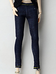 cheap -Trousers Shorts & Pants & Leggings For Barbie Doll Dark Navy Pants For Girl's Doll Toy