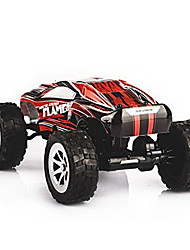 cheap -RC Car WL Toys A999 2.4G 4WD High Speed Drift Car Car Buggy (Off-road) 1:24 KM/H Remote Control / RC Rechargeable Electric