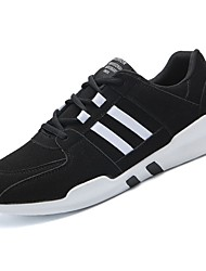 cheap -Men's Shoes Fleece Winter Fall Comfort Athletic Shoes For Outdoor Black/White Green Gray
