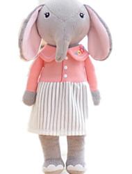 Недорогие -Мягкие игрушки Мягкие и плюшевые игрушки Игрушки Слон Животные Животные Милый стиль Куски