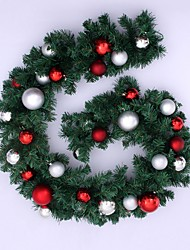 cheap -1pc Christmas Ornaments Garland for Holiday Decorations 270*25