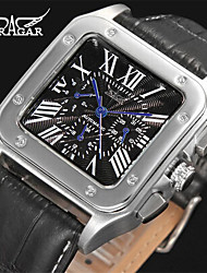 cheap -Men's Casual Watch Fashion Watch Dress Watch Wrist watch Automatic self-winding Leather Band Casual Cool