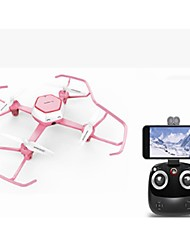 cheap -RC Drone HJ W606 4 Channel 2.4G RC Quadcopter One Key To Auto-Return RC Quadcopter / Remote Controller / Transmmitter / USB Cable