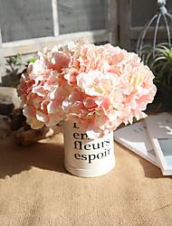 Недорогие -Искусственные Цветы 10 Филиал европейский Гортензии Букеты на стол