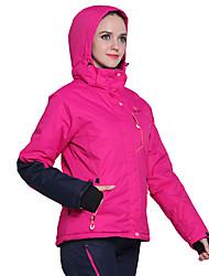 cheap -Phibee Women's Ski Jacket with Pants Warm Waterproof Windproof Wearable Breathability Anti-static Ski / Snowboard Polyester