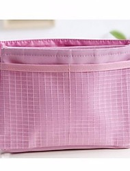 cheap -Polyester Geometric Cosmetic Bag Pockets for Outdoor All Season Pink