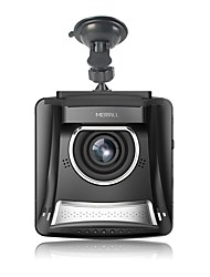Merrill F2401 Dash Cam 2.4 inch Screen 1080P Full HD 140 Wide Lens 12 Mega Pixel with Night Vision Loop Recording G-sensor