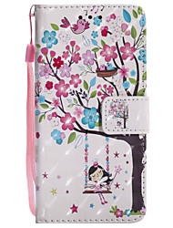 cheap -Case For Samsung Galaxy A5(2017) / A3(2017) Wallet / Card Holder / with Stand Full Body Cases Tree Hard PU Leather for A3(2017) / A5(2017) / A5(2016)
